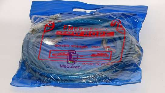7ton Steel Cable Emergency Tow Rope image 4