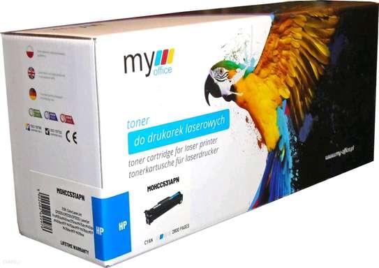 304A cyan CC531A laserjet toner cartridge printer HP Color LaserJet CM2320fxi MultifunctionHP Color LaserJet CM2320n MultifunctionHP Color LaserJet CM2320nf MultifunctionHP Color LaserJet CP2025x image 3