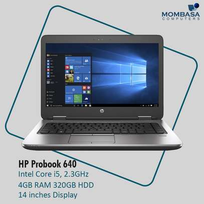 HP Probook 640 Core i5 4GB RAM 320GB HDD