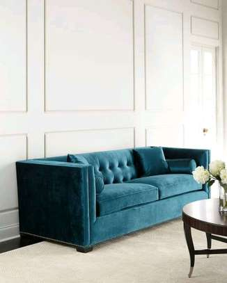 3 seater with arm rests image 1