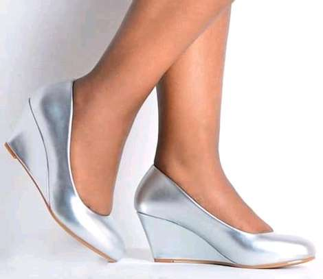 Open high heel/wedges/atmosphere wedges image 8