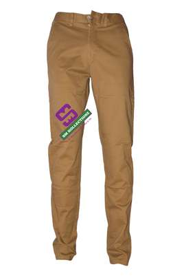 Slim Fit Khaki Pants