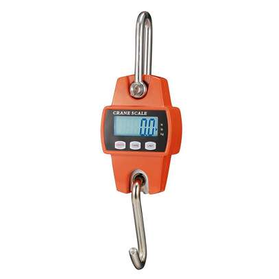 300KG-660lb Heavy Duty Digital Mini Crane Scale with LCD Display image 1