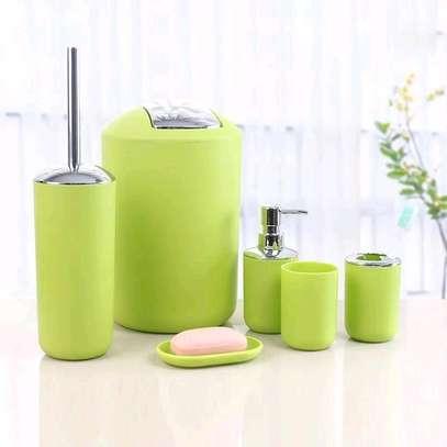 ?✨  ♦️Tooth Mug ♦️Toothbrush Holder ♦️Lotion Dispenser ♦️Soap Dish ♦️Trash Can  ♦️Toilet Brush With Holder image 6