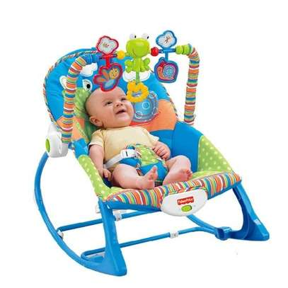 Fisher Price Superior Infant to Toddler Rocker/Bouncers ( 0+ months) - (Big Size)Blue image 1