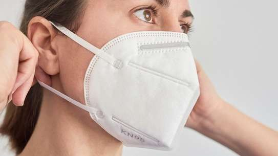 KN 95  CERTIFIED MASKS (BOX OF 20 PIECES) image 1