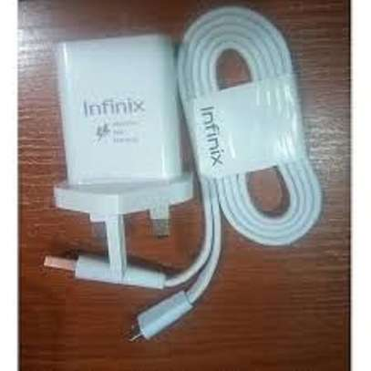 Infinix fast charger for all phones image 2