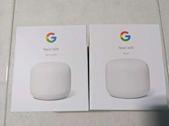 Google Nest WiFi Router and Point image 1