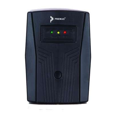 Premax UPS 900VA (PM-UPS900) BLACK image 1