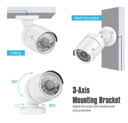 CCTV 4PC COMPLETE CAMERA KIT WITH 1TB HARD DISK image 6