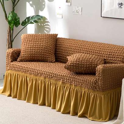Elastic sofa cover image 1