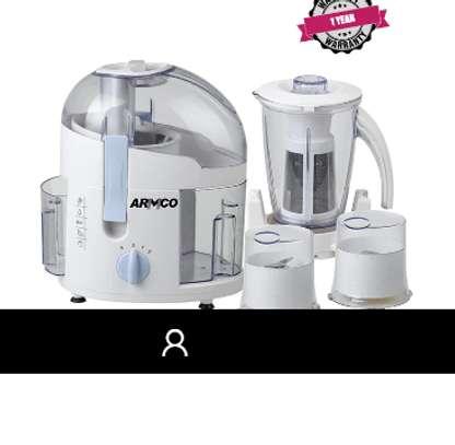 ARMCO AJB-800CG 4-in-1 Food Processor; Juicer, Blender, Grinder, Mill image 1