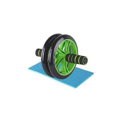 AB Wheel Abs Roller Workout Arm And Waist Fitness Exerciser Wheel image 1