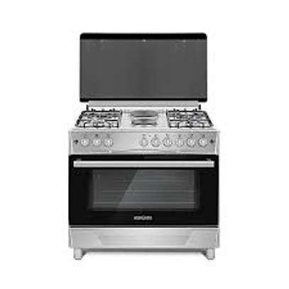 Bruhm BGC 9642NGX 90cm x 60cm Free Standing Gas Cooker image 1