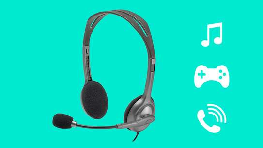 H110 STEREO HEADSET image 1