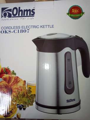 Ohms Cordless Electric Kettle