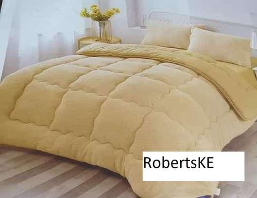 cream yellow duvet image 1