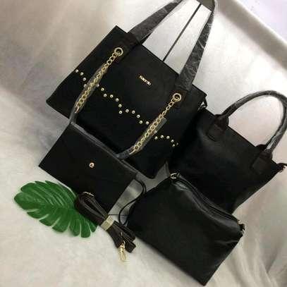 Leather Handbag Set image 2