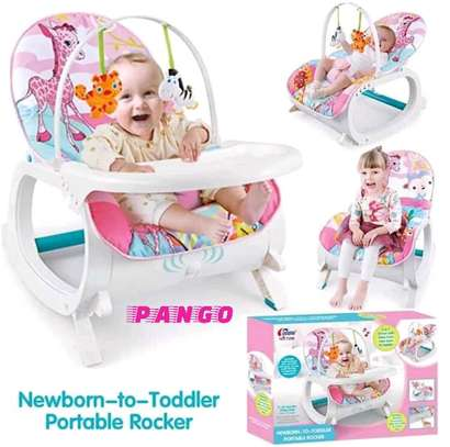 Toddler portable rocker image 1