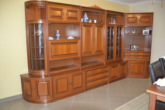 For Sale Antique Wall Cabinet Imported from Italy image 1