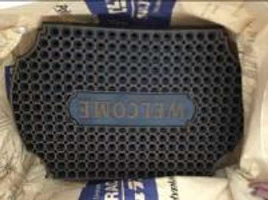 Imported Hard Rubber outdoor doormats