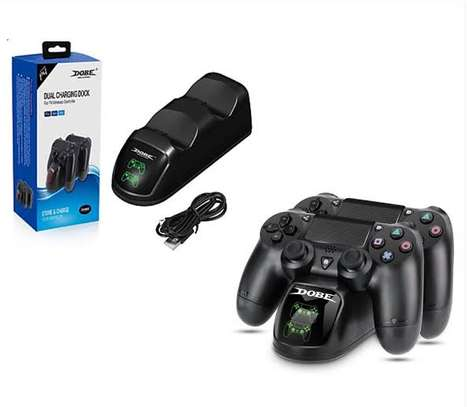 Dobe dual charging dock for ps4 pads image 2