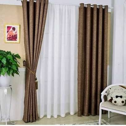 CURTAIN AND MATCHING SHEERS image 1