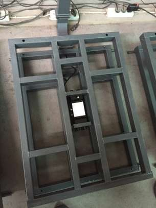 500kg digital weighing machine folding platform scale with big pan image 2