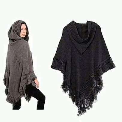Hooded ponchos image 4