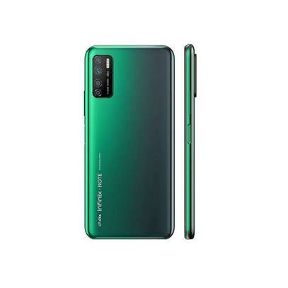 """Infinix NOTE 7 Lite-Android 10.0, 6.6"""", 4GB + 64GB,5000 MAh ,Jos,bf-Battery,forest Green image 2"""
