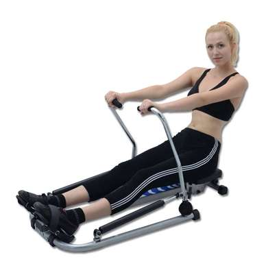 Mutifunctional Stamina Body Glider Rowing Machine indoor home exercise equipment fitness machines gym Rotating rowing machine image 6