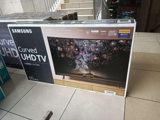 samsung 55 smart digital 4k curved tv image 1