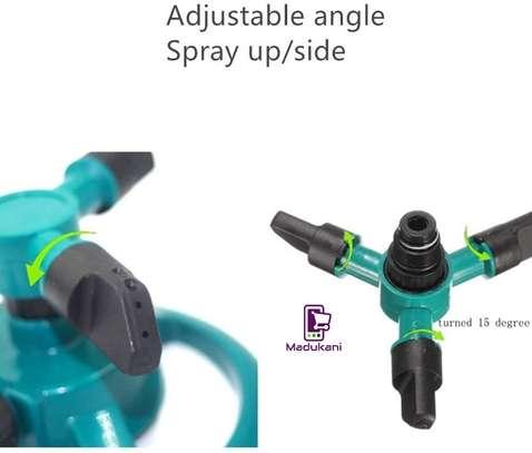 3 Arm Large Area Rotating Mini Sprinkler image 5