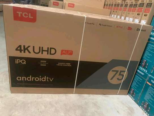 75TCL P715 smart UHD 4k led tv image 1