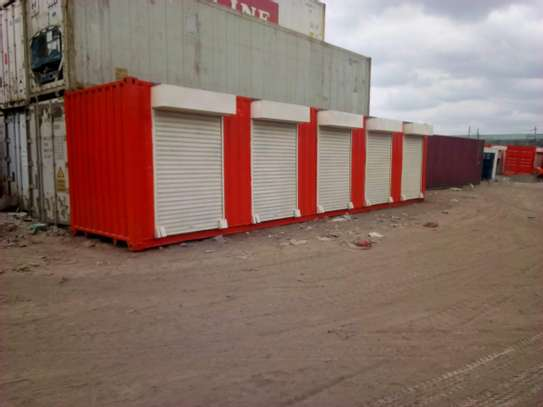 commercial shipping container