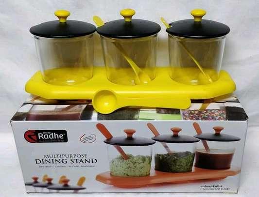 Multipurpose dinning set image 1