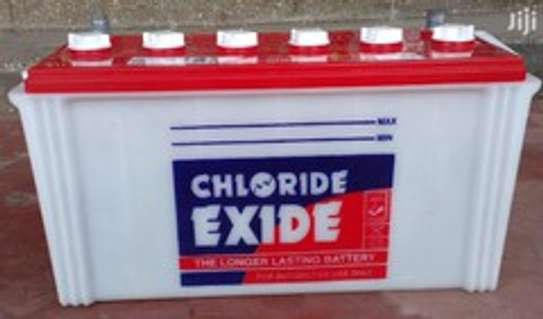 CHLORIDE EXIDE Solarbatter MF  100 AH 12 V image 1