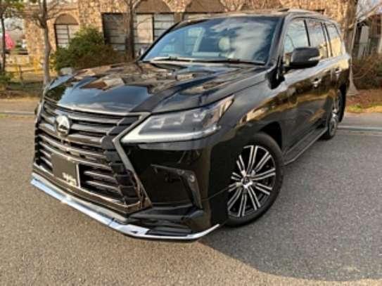 Lexus LX 570 2019 Black image 3