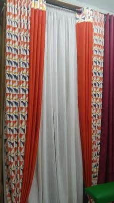 ORANGE QUALITY CURTAINS image 2