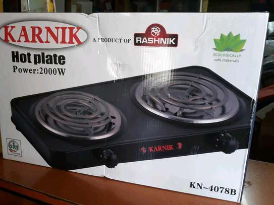 Karnik Electric Double hot plate image 1