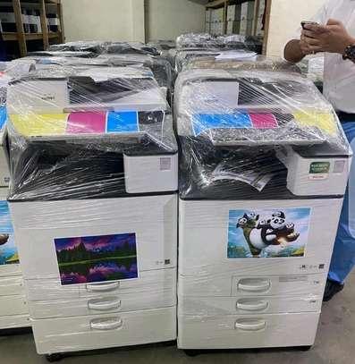 Best coloured Ricoh Aficio Mpc 2503 photocopier machine image 1