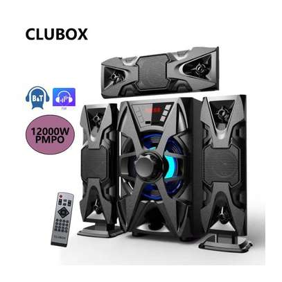 CLUBOX IC-1303 3.1 X-Base HI-FI BT Multimedia Bluetooth Speaker System image 1