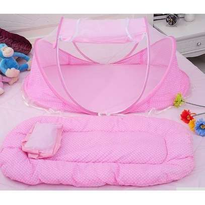Baby Nest with Mattress Pink