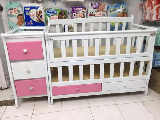 baby cot image 1