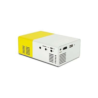 Portable Mini Home Theater LED Projector - White Yellow By Generic Have one to sell?  (2)   Key Features image 2
