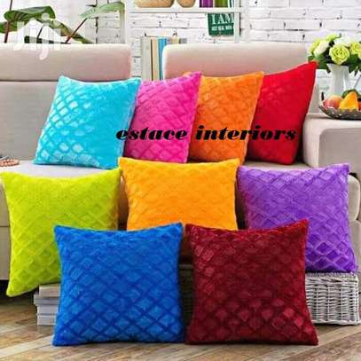 ADORABLE DECORATED  THROW PILLOWS image 1