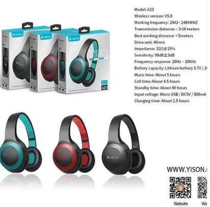 Powerful Bluetooth earphones image 1