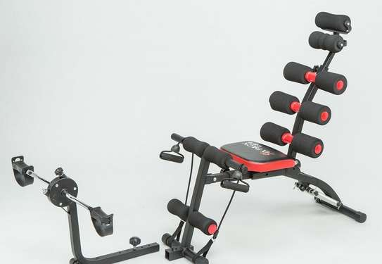 Healthcare 6 in 1 AB Core Six Pack Care AB Exerciser, Mini Home Gym image 1