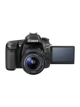 Canon EOS 80D DSLR Camera 18-55mm Lens image 2
