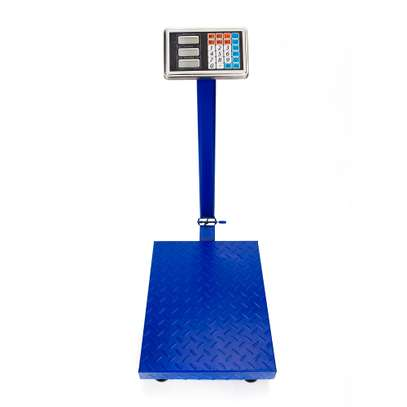 150kgs digital weighing scale platform SS body scale image 1